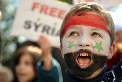 سوريا: مصادمات درعا وحرق تمثال